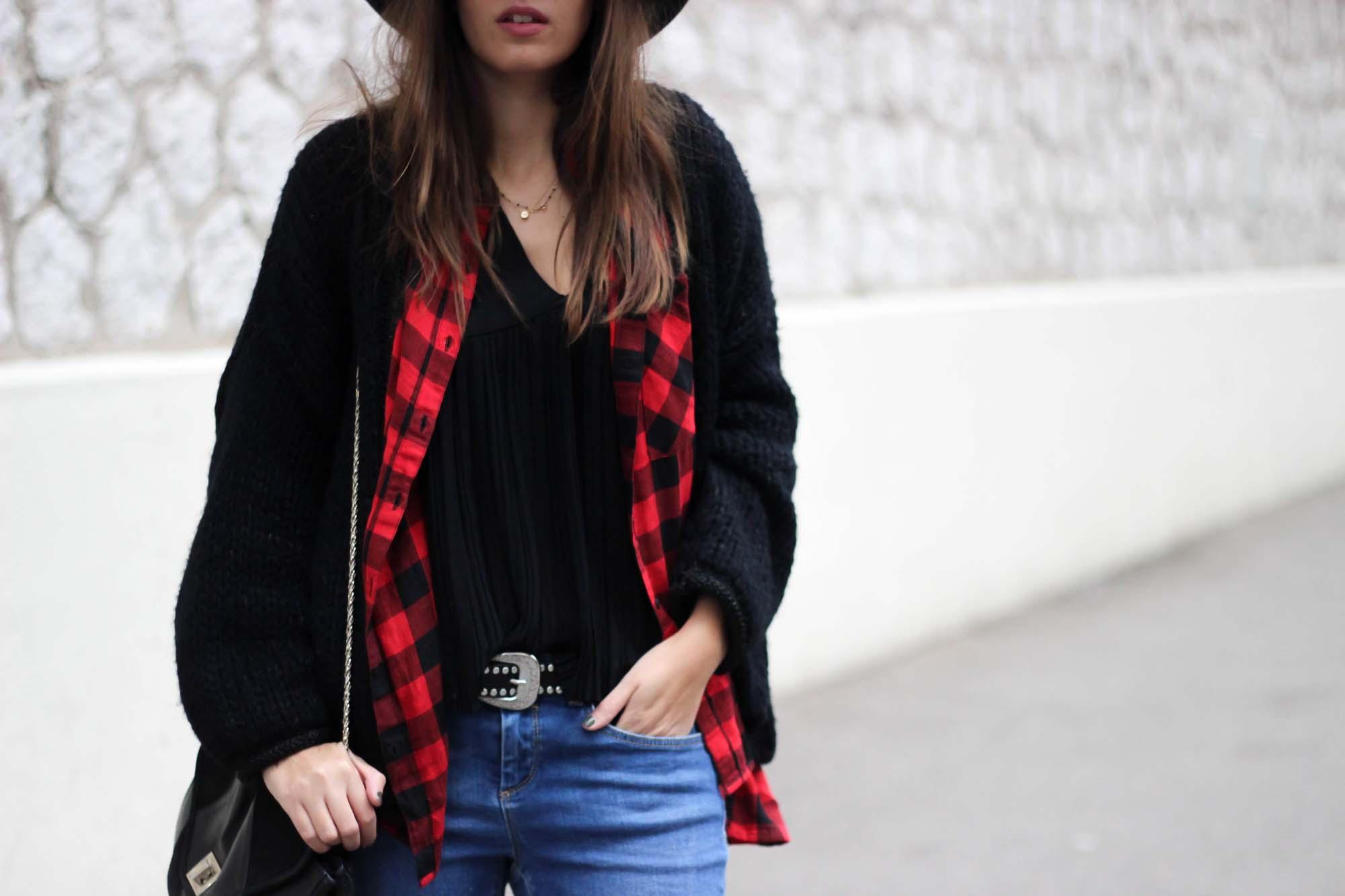 chemise-carreaux-rouge-noir
