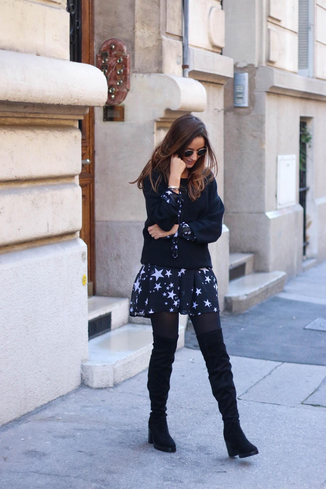 blog-mode-look-robe-noir-etoiles