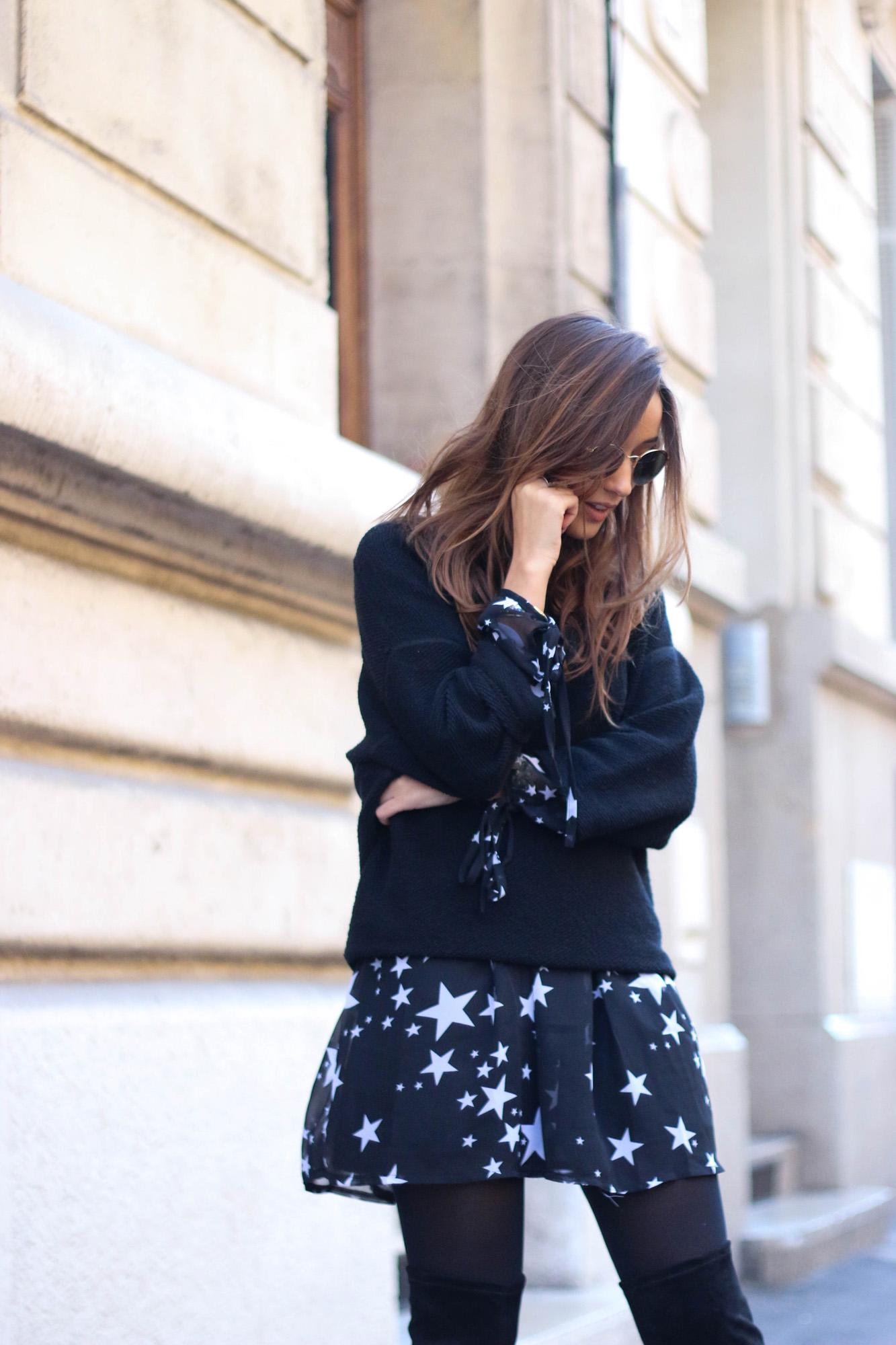 blog-mode-robe-etoiles-noire-blanche